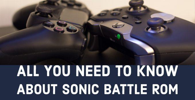 Sonic battle rom