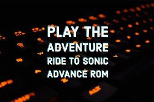 sonic advance rom