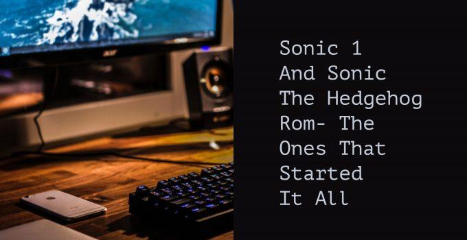 Sonic the Hedgehog rom