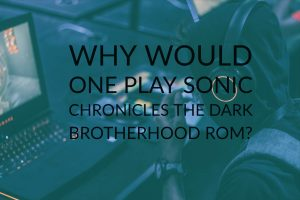 sonic chronicles the dark brotherhood rom